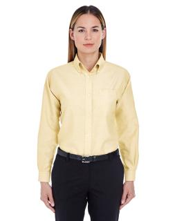 Ladies Classic Wrinkle-Resistant Long-Sleeve Oxford-