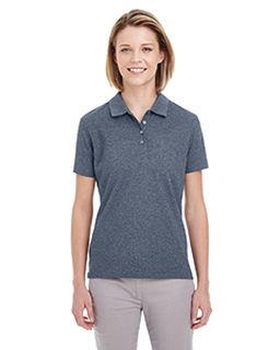 Ladies Heathered Pique Polo-