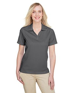 Ladies Cavalry Twill Performance Polo-UltraClub