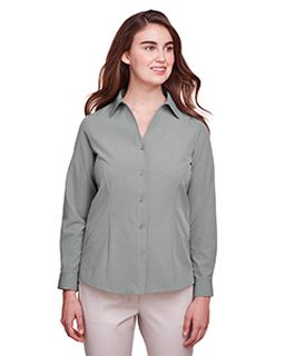 Ladies Bradley Performance Woven Shirt-UltraClub