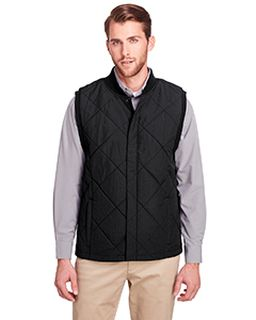 Mens Dawson Quilted Hacking Vest-UltraClub