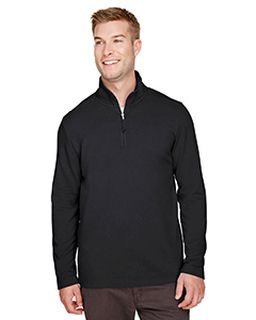 Mens Coastal Pique Fleece Quarter-Zip-