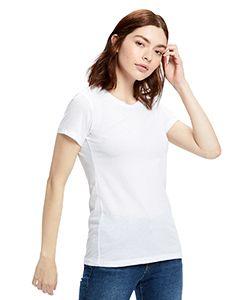 Ladies Organic Crewneck T-Shirt-US Blanks