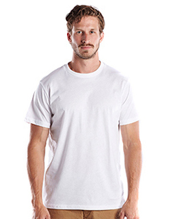 Mens Made In Usa Short Sleeve Crew T-Shirt-