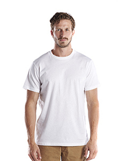 Mens Short-Sleeve Recycled Crew Neck T-Shirt-