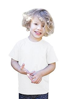 Toddler Organic Cotton Crewneck T-Shirt-