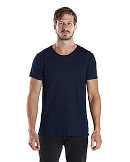 Mens 6 Oz. True Indigo Crew-