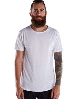 Mens Short-Sleeve Recycled Crew-