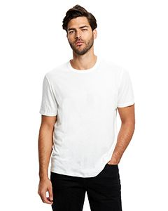 Mens Supima Garment-Dyed Crewneck T-Shirt-