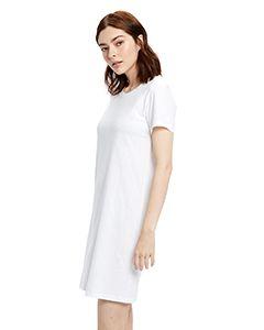 Ladies Cotton T-Shirt Dress-
