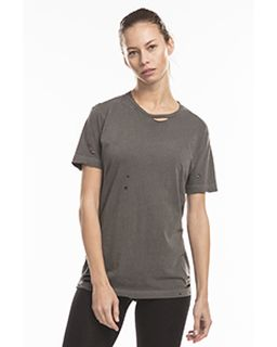 Unisex Pigment-Dyed Destroyed T-Shirt-