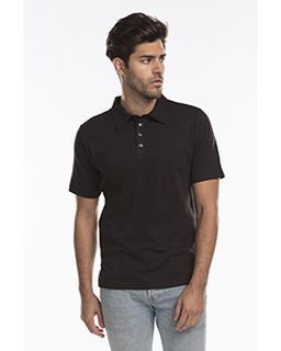 Mens Jersey Interlock Polo T-Shirt-