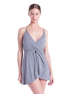 Ladies Modal Wrap Dress-US Blanks