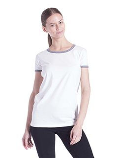 Ladies Classic Ringer T-Shirt-