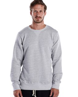 Mens Long-Sleeve Pullover Crew-