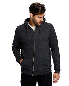 Unisex Heavyweight Loop Terry Full-Zip Hooded Sweatshirt-