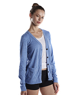 Ladies 4.9 Oz. Long-Sleeve Cardigan-