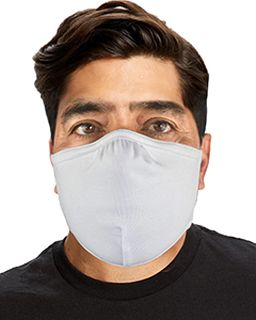 (72 Pack) Anti-Microbial Double Layer Cotton/Lycra Adjustable Mask -US Blanks