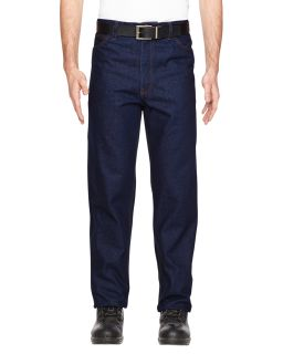 Mens Flame-Resistant Five-Pocket Denim Jean-Walls