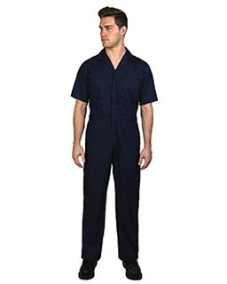 Unisex Twill Non-Insulated Short-Sleeve Coverall-