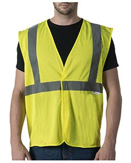 Mens Ansi Ii Mesh Safety Vest-Walls Outdoor