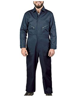 Unisex Twill Non-Insulated Long-Sleeve Coveralls-