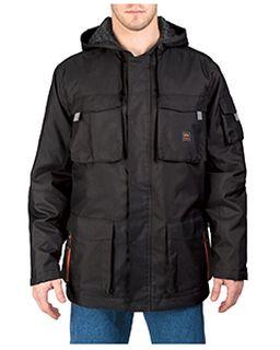 Mens Modern Work Cut & Shoot Hooded Coat-