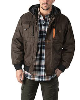 Mens Modern Work Tuff Hooded Coat-Walls Outdoor