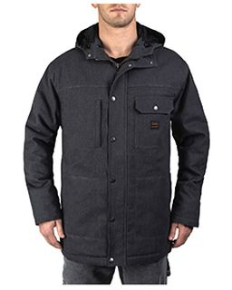 Mens Tall Workwear Hooded Parka With Kevlar-Walls Outdoor