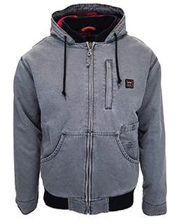 Unisex Vintage Duck Hooded Jacket-