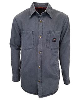 Unisex Vintage Duck Shirt Jacket-