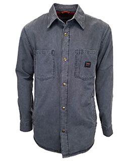 Unisex Tall Vintage Duck Shirt Jacket-