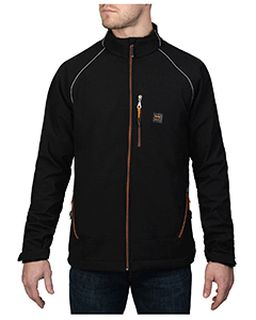 Mens Storm Protector Solid Soft Shell Jacket-