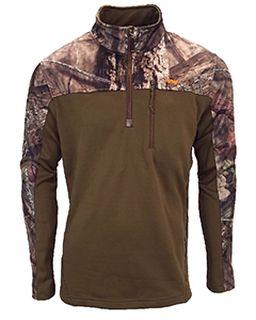 Mens Hunt Fleece Lifestyle 1/4 Zip Pullover-Walls Outdoor