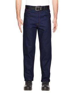 Mens Flame-Resistant Five-Pocket Denim Jean