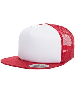 Foam Trucker With White Front Snapback-