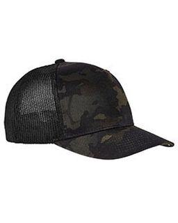 Adult Flexfit® Multicam® Trucker Mesh Cap-Yupoong