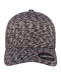 Flexfit Delta® Adult Melange Seamless Unipanel Cap-Yupoong
