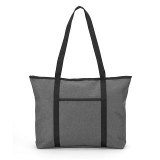 Heathered Gray Tote Bag-
