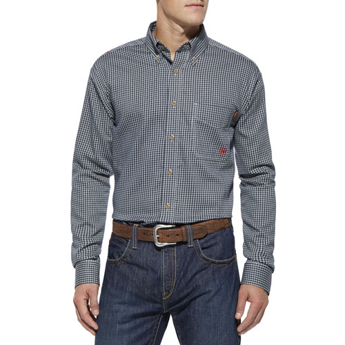 Ariat FR Plaid Work Shirt-