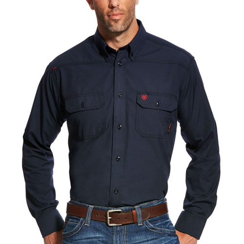 Ariat FR Featherlight Work Shirt-Ariat