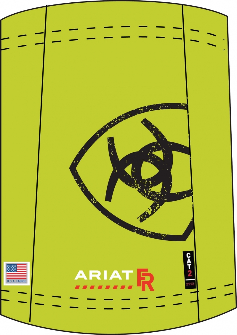 Ariat FR Hi-Viz Neck Gaiter - Face Mask Alternative-Ariat