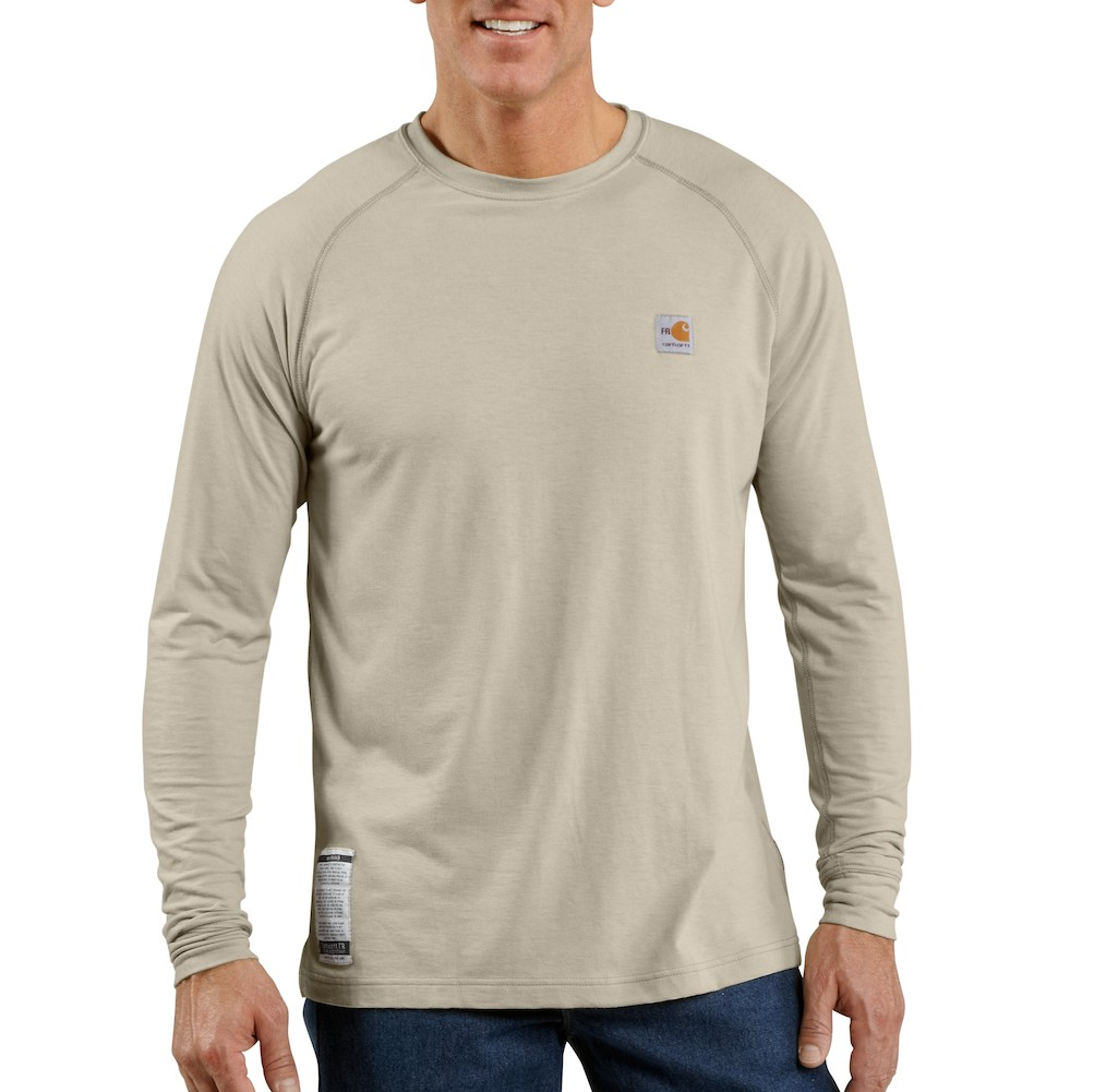Carhartt Men's FR Force Long-Sleeve T-Shirt-Carhartt