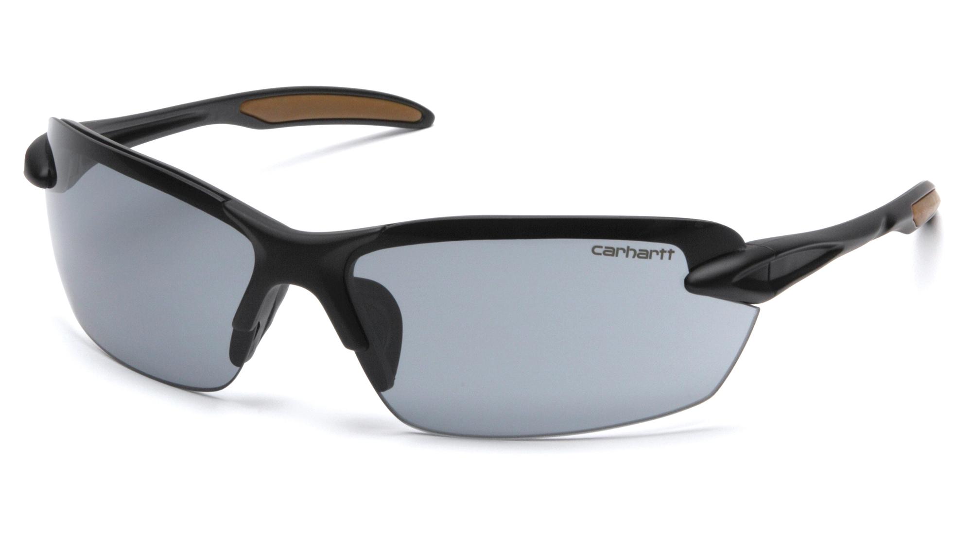 Carhartt Spokane Gray Lens Safety Glasses-