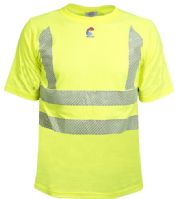 NSA FR Control 2.0 Hi-Vis T-Shirt with 3M FR Segmented Trim -