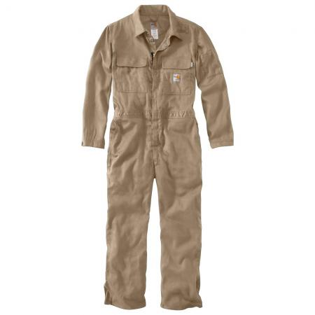Carhartt Flame-Resistant Lightweight Twill Coverall-