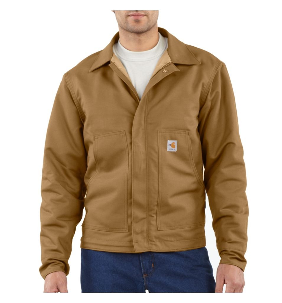 Carhartt Men's FR Midweight Canvas Dearborn Jacket-