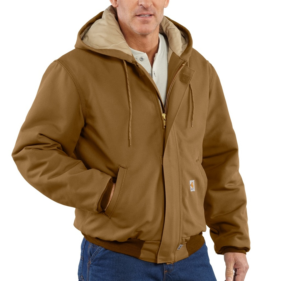 Carhartt Men's FR Duck Active Jac/Quilt- Lined-
