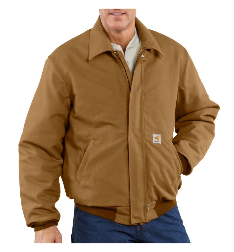 Carhartt Men's FR Bomber Jacket/Quilt-Lined-Carhartt