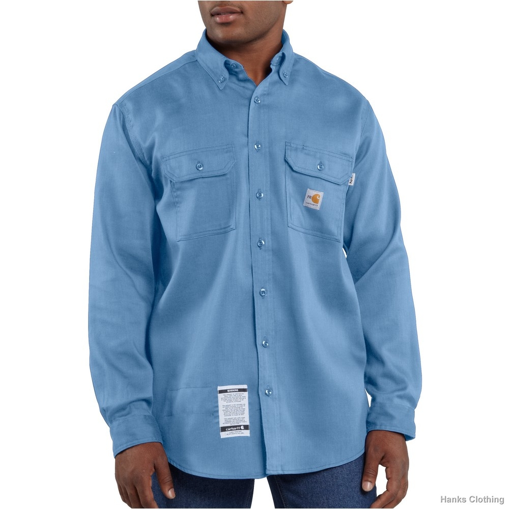 Carhartt Men's FR Chambray Shirt-Carhartt